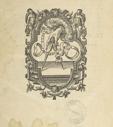 Préface page 10: Dodoens, R. Stirpium historiae pemptades sex sive libri XXX.  1616. In f°  (Bibliothèque universitaire Saint-Charles, Res 15)  © CICRP - photo Odile Guillon